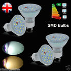 4/8/10x 3W=35W 5W=50W GU10 SMD LED Bulbs High Power Spot Light Warm Day White UK