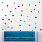 30 Polka Dot spot Bubble Wall Stickers Kid Decal Art Nursery Bedroom Vinyl Decor