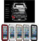 """Aluminum Gorilla Glass Metal Case Cover For iPhone 6 4.7"""" Water/Dust/Shockproof"""