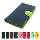Samsung Galaxy Note4 Case MERCURY Goospery Fancy Flip Diary Leather Wallet Cover