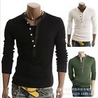 Fashion Casual Men's Slim Fit Pullover Sweater Coat V-neck Long-sleeve Knitwear