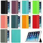 Super Slim Case With Slip Resistant Back Cover For iPad 2 3 4 5 Air 2 Wake/Sleep