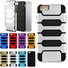 2 in1 Hybrid Combo Armor Rubber PC Protect Case Cover For iPhone 6 4.7 Plus 5.5
