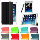 For iPad Air 2 Slim Smart Case Rubberized Slip Resistant Back Cover Protector