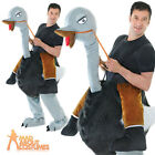 Adult Ostrich Costume Step In Bird Costume Animal Fancy Dress Outfit New