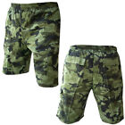 Army Patrol Combat Mens Work Shorts Fishing Cargo Ripstop US Woodland Camo M-XL