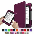 Premium Slim Fit PU Leather Folio Cover Case For Amazon Kindle Voyage Sleep/Wake