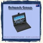 """PU material 10.1"""" inch Tablet USB Keyboard Case Cover Android Windows iPad Pen"""
