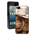 For Apple iPhone 4 4S 5 5S 5c 6/6 Plus Hard Case Cover 1409 Rodeo Cowboy Hat