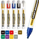 x3 Monami Pro Paint Permanent Marker Pen for Wood Metal Plastic Glass Rubber