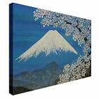 Japanese Painting Blossom Mountain Canvas Art Cheap Wall Print Home Interior