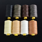 1mm 109Yard Flat Sewing Coarse Waxed Nylon Waxing Thread Leather Craft Repair