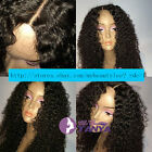 """Spanish Curly 100% Brazilian remy human hair full lace wigs/lace front wigs8""""-22"""
