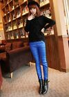2014 Womens Trousers Winter Plus Thick Down Pants Velvet Warmer Boots Leggings