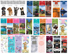 2018 Calendar Slimline Calender Kittens Puppies Cats Dogs Teddy Birds Wildlife