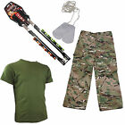Kids Ultimate Outdoor Adventure Fun Pack Blowgun by Barnett and Military Clothes