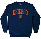 Chicago 773 Sweatshirt - Area Code 773 Chi-Town Illinois Crewneck - Men S to 3XL