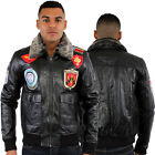 Aviatrix William Avatar Pilot Genuine Leather Jacket US Royal Air force Bomber