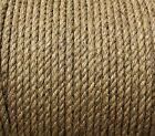 QUALITY 'EVERLASTO' NATURAL ORGANIC MANILA ROPE - 6MM - VARIOUS LENGTHS