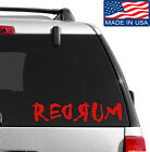 Redrum Decal Sticker Buy 2 Get 1 Free Choose Size & Color