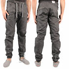 BOYS KIDS ENZO EZB192 DARK GREY CUFFED TAPERED JOGGERS ALL SIZES 24 TO 27