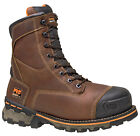 """Mens Timberland PRO Boondock 8"""" Work Boot Safety Toe WP Leather (D,M) 89628"""