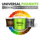 WALL PAINT DYE PIGMENT COLOURANT TINT STAIN -20% when buy 2 or more silver