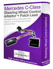 Mercedes C Class car stereo adapter, Connect your Steering Wheel stalk controls
