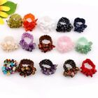 Handmade Assorted Mixed Gemstone Chips Stretch Ring Adjustable Optional