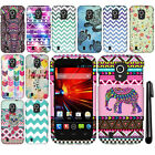 For ZTE Source N9511 Majesty Z796C Rubberized HARD Case Phone Cover + Pen