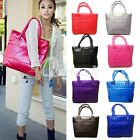 Women Winter Space Padded Purses Bag Tote Hobo Handbag Shoulder Bag OBSWW0054