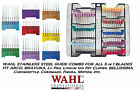 WAHL Steel Attatchment GUIDE COMB For ARCO,BRAVURA ADJUSTABLE 5in1 Clipper Blade