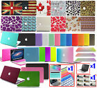 38color! Rubberized Thin Laptop Hard Case GIFTS For NEW Macbook AIR/PRO 11 13 15