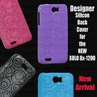 For XOLO Play 8x-1200 Vivid Coloured Designer Soft Silicon Back Case Cover Pouch