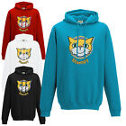 GAMER INSPIRED STAMPY HOODIE KIDS & ADULTS CAT FACE MR RED/BLUE/BLACK HOODY TOP