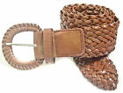 """LS3002 1 3/4"""" WIDE BRAIDED BELT FOR LADIES 5 COLORS & 6 SIZES PLUS FREE SHIPPING"""