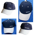 Nautical Yachting Baseball Cap Show your Rank onboard! Captain, Crew & More!