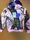 Mossy oak youth pink purple hoodie look new nice girls ladies  hoody