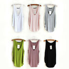 ST Hot Women's Casual Wotefusi Sexy Modal Basic Ribbed Tank Tops Vest Sleeveless