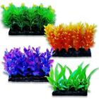 Small Plastic Plants Aquarium Fish Tank Plant / Decoration / Feature Size 3""