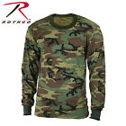 BOYS & GIRLS Woodland Camouflage Military Kids Long Sleeve Military T-Shirt 6705