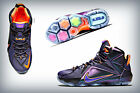 NIKE Lebron 12 XII 'INSTINCT' Cave Purple / Hyper Grape -Turquoise 684593-583