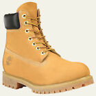 NEW MEN'S TIMBERLAND 6 INCH WATERPROOF PREMIUM BOOTS [10061]  WHEAT NUBUCK
