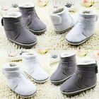 Baby boots boys girls Snow winter Soft bottom Shoes Suit for 3-6 6-9 9-12Mths