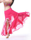New Belly Dance Costumes 2 color Waves Skirt Dress with slit Skirt Dress 9 Color