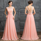 2015 New Long Chiffon Wedding Bridesmaid Dresses Prom Formal Party/Evening Gowns