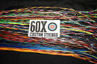 60X Custom Strings String and Cable Set for Mathews 3D Vapor Bow Bowstring