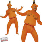 MENS ADULT ORANGE TANGO MAN COSTUME