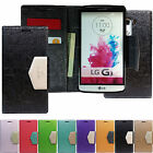 Pearl Leather Diary Wallet Glossy Flip Case Book Cover For LG Various Phones