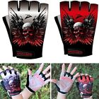 XINZECHEN Brand Cycling Bike Bicycle 2 GEL Pads Half Finger Gloves Shockproof